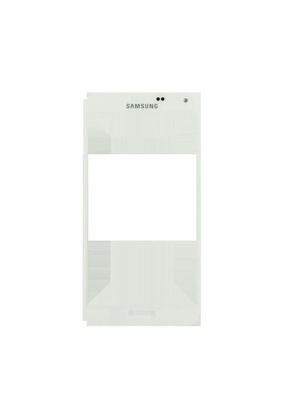 Samsung Galaxy S5 Dokunmatik Lens Beyaz