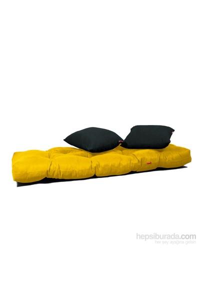 Kombin Kanepe - Metal - Sarı -Siyah