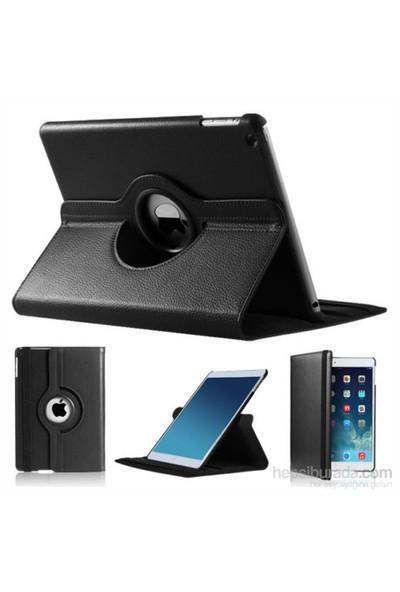 Romeca iPad Air 9,7' 360 Derece Dönebilen Siyah Kılıf