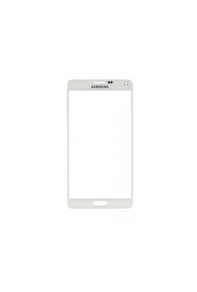 Samsung Galaxy Note 4 Dokunmatik Lens Beyaz