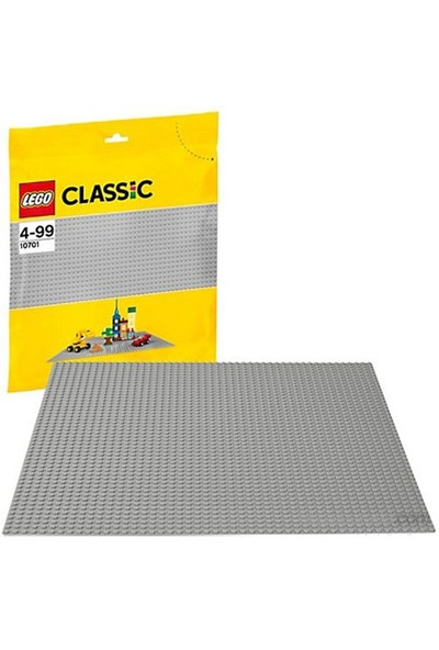 LEGO Classic 10701 Gri Zemin