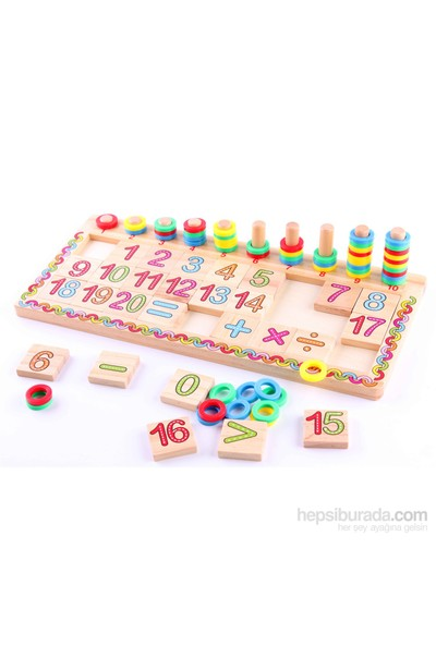 Learning Toys Math Operation Logarithmic Board