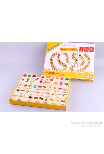 Wooden Toys Knowledge Dominoes