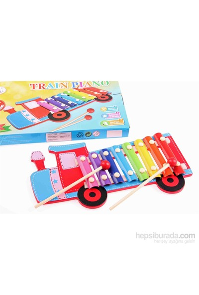 Learning Toys Wooden Train Piano