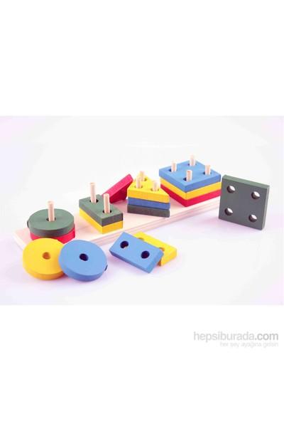 Wooden Toys Montessori Kavram Şekil Seti