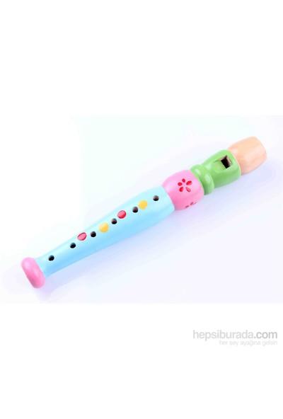 Learning Toys Ahşap Renkli Flüt