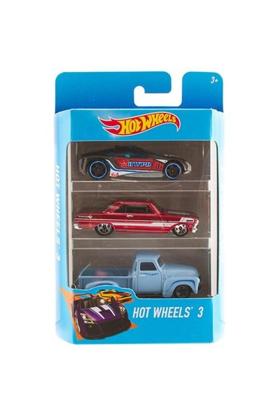 Hot Wheels Üçlü Araba Seti Model 32
