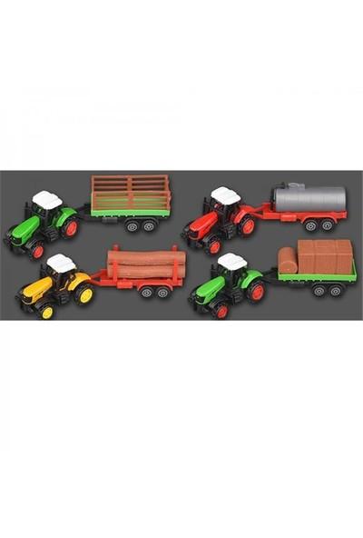 Vardem Kutulu Çekbırak Römorklu Traktör