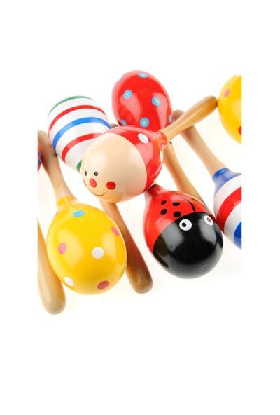 Learning Toys 6'lı Ahşap Marakas Seti