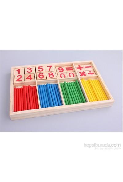 Wooden Toys Sayı Çubuğu Seti