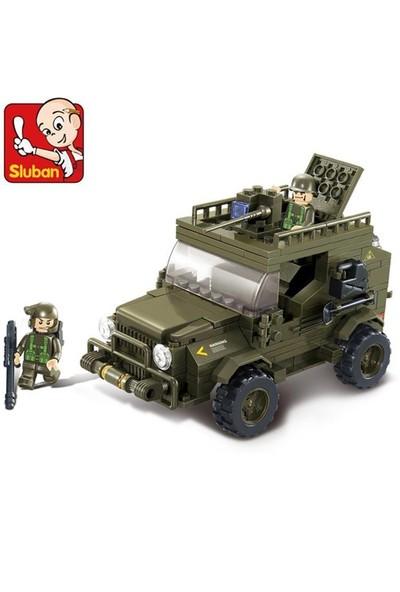 Sluban Kutulu Blok Askeri Jeep 221 Parça
