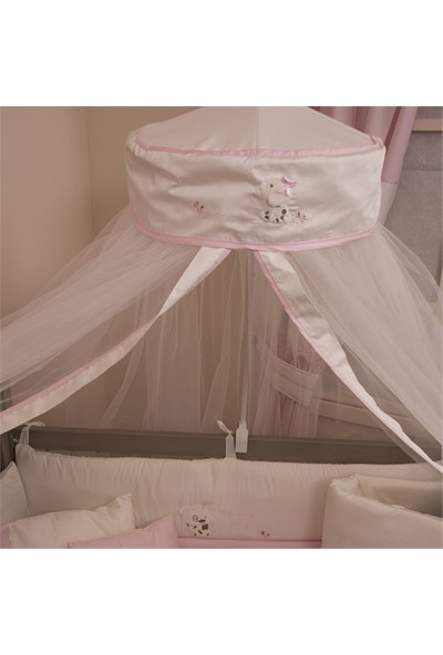 Aybi Baby Tül Cibinlik 250 X 800 Cm Boby&Bonnie Pink