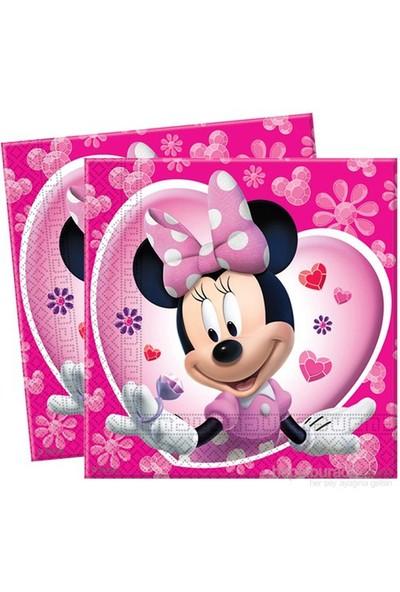 Balon Minnie Kağıt Peçete 33X33 Cm