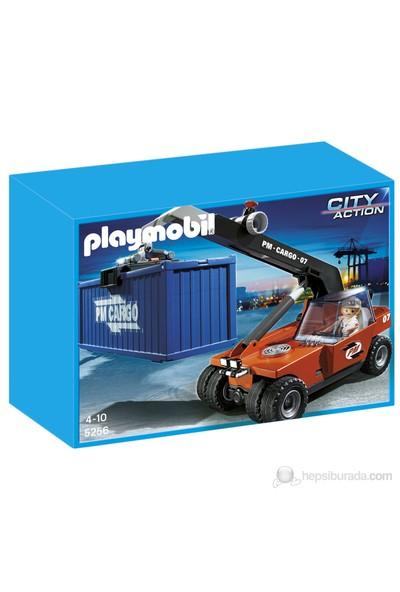 Playmobil Konteyner ile Kargo Taşıyıcı