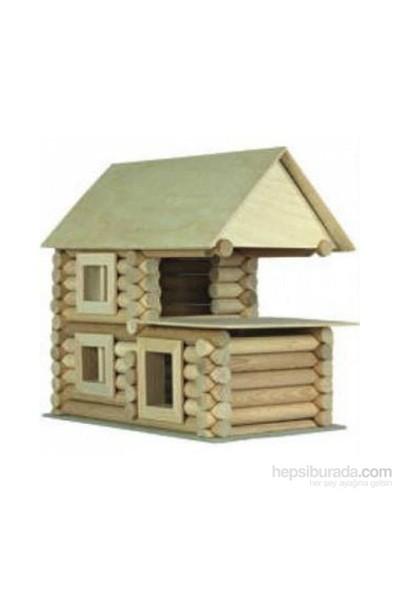 Hepsi Dahice 11 Farklı Model Yapılabilen Dağ Evi Yapı Oyuncağı