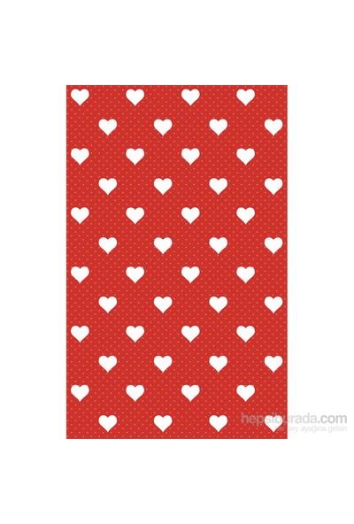 d-c-fix Dekor Kırmızı Kalpler 45 cm X 2 mt Yapışkanlı Folyo