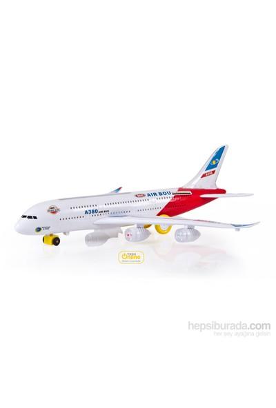 Canem Air Bus A380 Pilli Işıklı Sesli Yolcu Uçağı