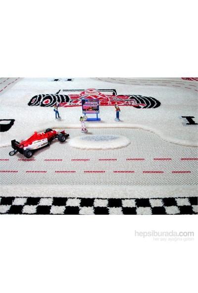 İvi Yarışcı Krem Halı / 100x150 cm