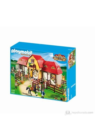 Playmobil Çimenlikli Büyük At Çiftliği