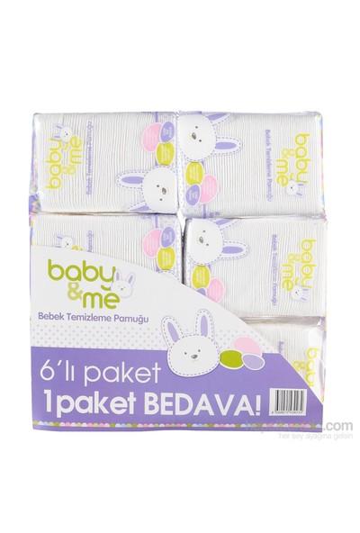 Baby&Me Temizleme Pamuğu 6'Lı Paket