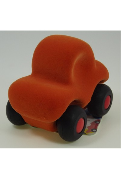 Rubbabu Küçük Araçlar Rubbabu Araba Turuncu