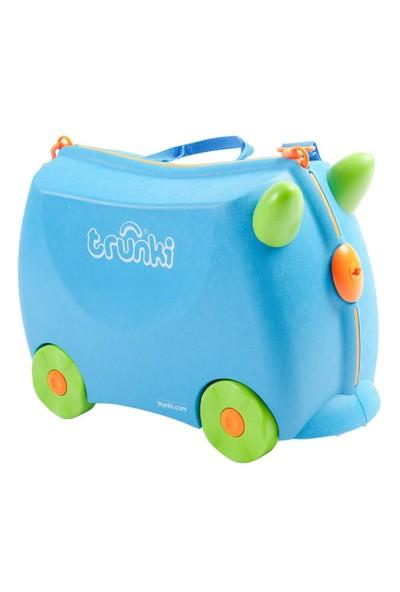 Trunki Terrance Binilen Ve Sürülen Çocuk Bavulu