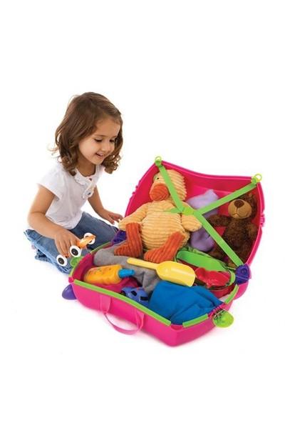 Trunki Trixie Binilen Ve Sürülen Çocuk Bavulu