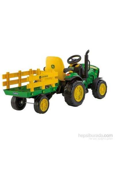 Peg Perego John Deere Ground Force Akülü Traktör 12 Volt