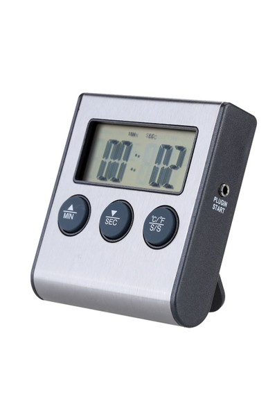 Elektronik Alarmlı Fırın ve Yemek Termometre thr149