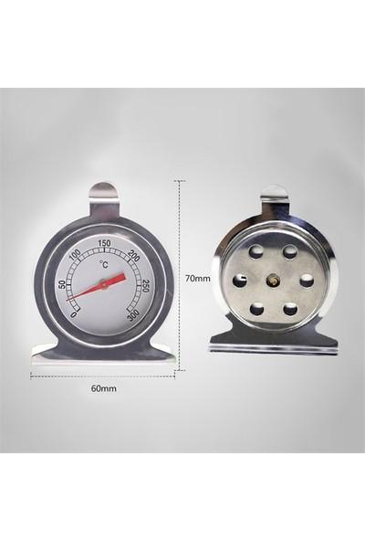 1. Sınıf Çelik Manuel Fırın Termometresi, Sıcaklık Ölçer Thr150