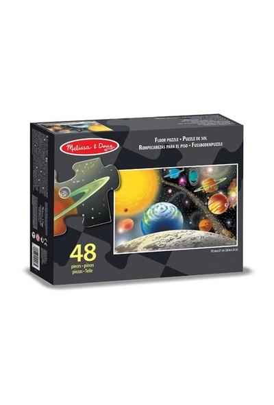 Melissa&Doug Dev Yer Yapbozu- Güneş Sistemi (48 Parça)