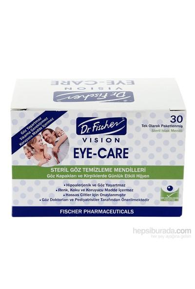 Dr.Fischer Eye-Care Yetişkin Steril Göz Temizleme Mendili - 30'lu Paket