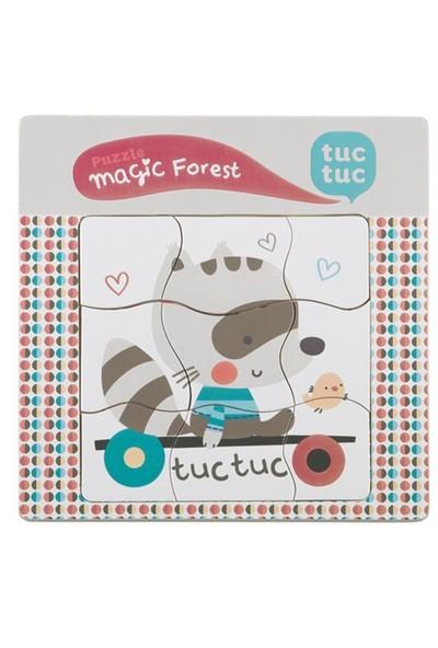 Tuc Tuc Tahta Kompleks Puzzle, Magic Forest