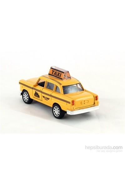 Furkan 1/32 Metal Çek Bırak Taksi