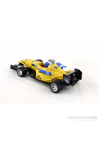 Furkan 1/32 Formula Çek Bırak Araba Sesli & Işıklı Sarı