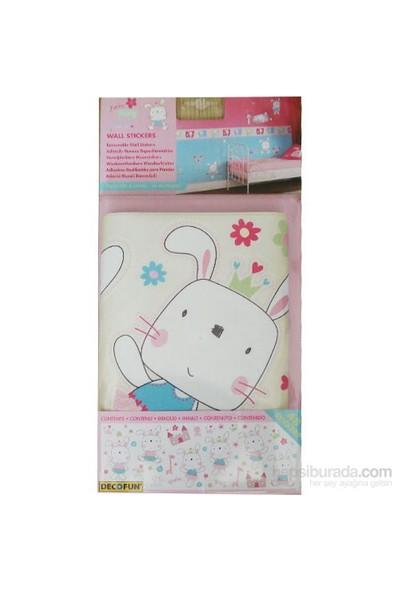 Decofun Funny Bunny Wall Stickers