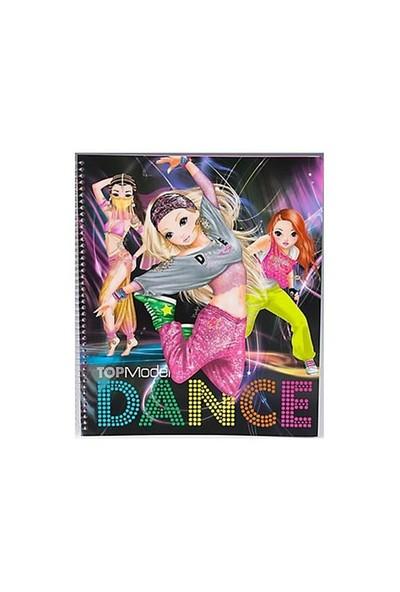Top Model Dance Boyama Kitabı