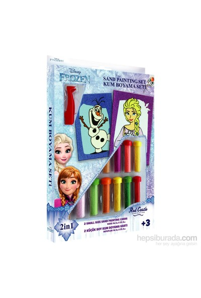 Disney İkili Kum Boyama Seti Frozen Elsa Ve Olaf