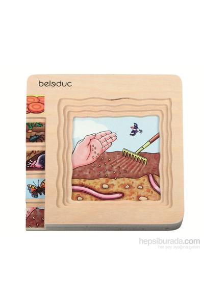 Beleduc Katlı Puzzle-Havuç 15X15 Cm