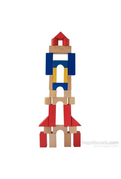 Neva Toys Ahşap Blok (107 Parça)