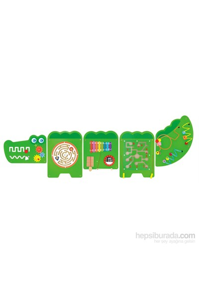 Vıga Toys Duvar Oyunu-Timsah