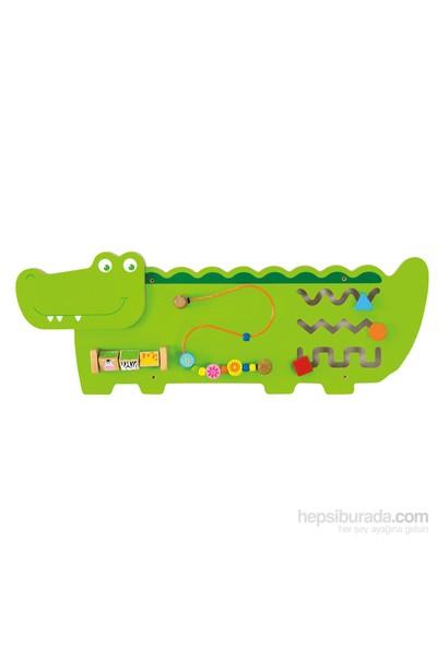 Vıga Toys Duvar Oyunu - Timsah