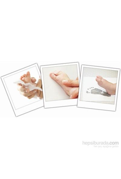 Inkless print el ve ayak izi alma seti