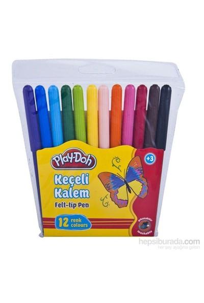 Play-Doh 12 Renk Keçeli Kalem