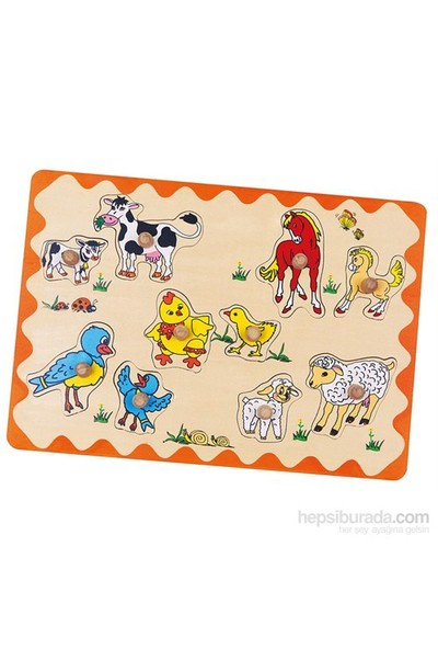 Ekoplay Hayvanlar Ve Yavruları Kulplu