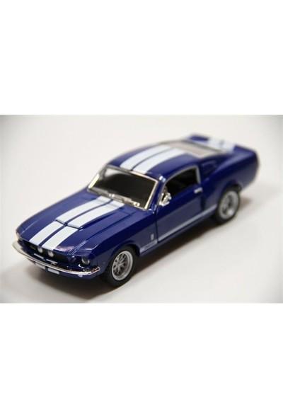 Kinsmart 1967 Shelby Gt500 (Mavi) 1:38 Metal Çek Bırak Araba