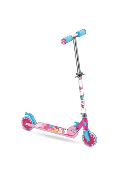 Barbie Scooter 2 Tekerlekli Frenli