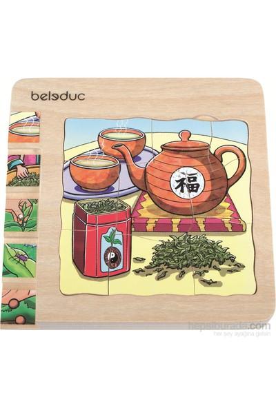Beleduc Katlı Puzzle-Çay 15X15 Cm