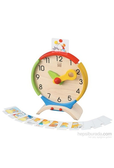 Plantoys Aktivite Saati (Activity Clock)