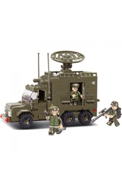 Sluban Yapboz Blok 230 Parça Radar Aracı